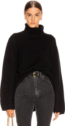 Totême Cambridge Sweater in Black | FWRD