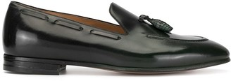 Francesco Russo Mocassin tassel loafers
