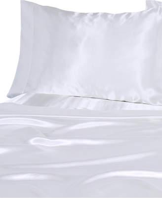 Luxury Satin Solid California King Sheet Sets Bedding