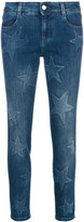 Stella McCartney star jeans - women - Cotton/Spandex/Elastane - 24
