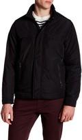 Perry Ellis Oxford Tech Faux Leather Trim Jacket