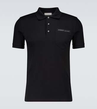 Givenchy Slim-fit short-sleeved polo shirt