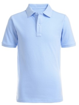 Nautica Husky Boys Stretch Double Pique Polo