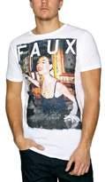 Crew Clothing Friend Or Faux Genius Printed Men's T-Shirt