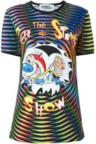 Jeremy Scott Ren & Stimpy print T-shirt - women - Cotton - M