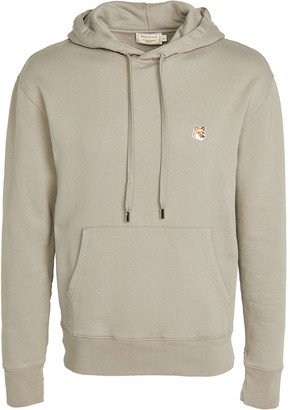 MAISON KITSUNÉ Pullover Hoodie with Fox Head Patch