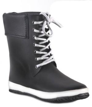 dav Coachella Cuff Waterproof Women's Mid-Height Rain Boot Women's Shoes