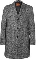Tod's - Slim-fit Herringbone Virgin Wool-blend Coat