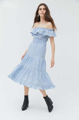 Dress Forum Off-Shoulder Midi Dress