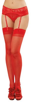 Dreamgirl Back Seam Stockings