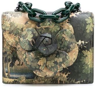 Oscar de la Renta mini Tro printed bag
