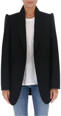 Balenciaga Structured Shoulder Tailored Blazer