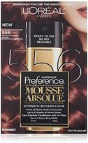 L'Oreal Superior Preference Mousse Absolue, 556 Medium Mahogany Brown