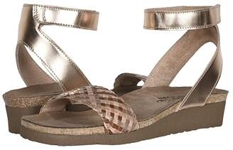 Naot Footwear Abbie (Black Madras Leather/Black Dark Brown Braid) Women's Shoes