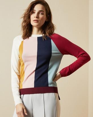 Ted Baker AEMELA Color block jumper