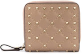 Valentino Garavani Valentino Rockstud Spike wallet - women - Leather/metal - One Size
