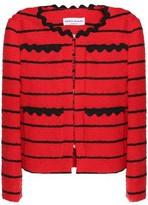 Sonia Rykiel Striped Bouclé-Tweed Jacket