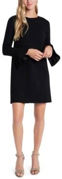 CeCe Bell-Sleeve Ponte-Knit Dress