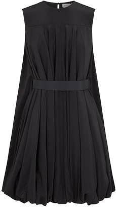 Alexander McQueen Silk Puffball Dress