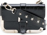 RED Valentino Shoulder bag with stars - women - Leather - One Size
