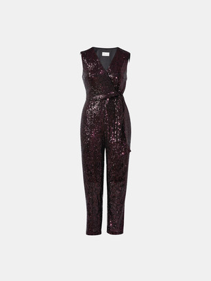 Milly Micro Stretch Sequin Jumpsuit