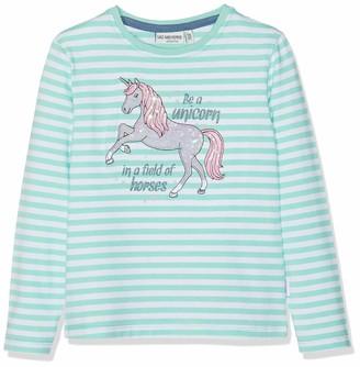 Salt&Pepper Salt and Pepper Girls' Longsleeve Friend Stripe T-Shirt