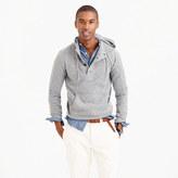 J.Crew Italian cashmere henley hoodie