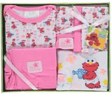 "Sesame Street Sesame Beginnings Baby Girls' ""Elmo's Garden"" 6-Piece Gift Set"