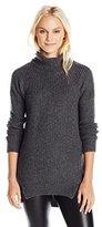 Velvet by Graham & Spencer Women's Cashmere Blend Turtleneck Sweater