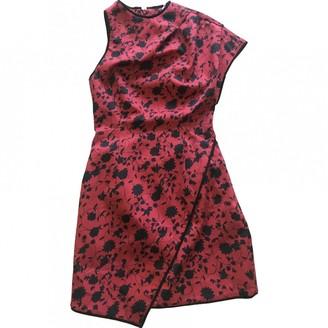 C/Meo Red Cotton Dresses