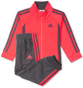 adidas 2-Pc. Tricot Jacket and Jogger Pants Set, Toddler Girls (2T-5T)