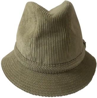 Philip Treacy Green Cotton Hats