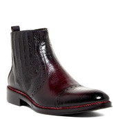 Jo Ghost Remzy Snake-Embossed Chelsea Boot