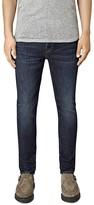 AllSaints Clachan Cigarette Slim Fit Jeans in Indigo Blue