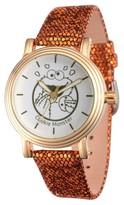 Sesame Street Women's Women's Gold Vintage Alloy Watch - Brown