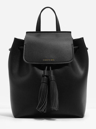 Charles & Keith Tasselled Backpack