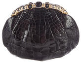 Judith Leiber Alligator Evening Bag