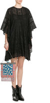 Valentino Bead Embellished Shoulder Bag