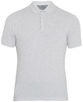 Brunello Cucinelli Slit-hem cotton-piqué polo shirt