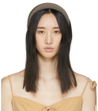 Sophie Buhai Taupe Classic Puffy Headband