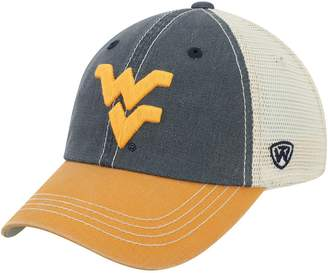 Top of the World Unbranded Youth Navy West Virginia Mountaineers Rookie Offroad Trucker Adjustable Hat