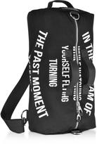 McQ Black Canvas Gym Bag