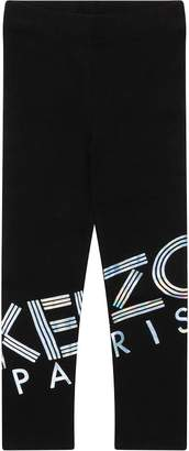 Kenzo Black Cotton Leggings