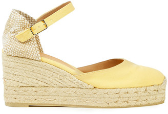 Castaner Cotton-canvas Platform Espadrilles