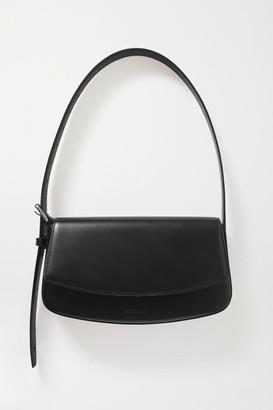Balenciaga Leather Shoulder Bag - Black