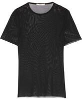 Tibi Stretch-Mesh T-Shirt