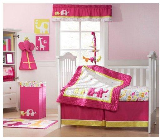 Carter's Safari Brights 4 Piece Crib Set