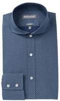 Michael Bastian Diamond Print Trim Fit Dress Shirt