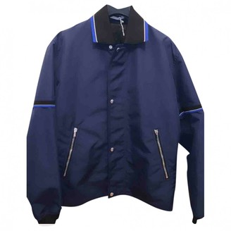 Christian Dior Navy Synthetic Jackets