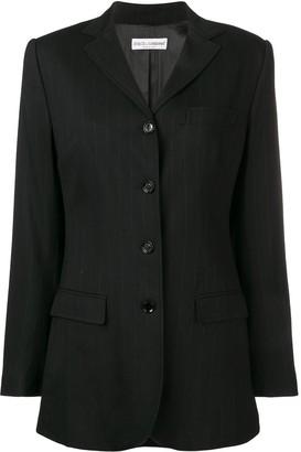 Dolce & Gabbana Pre-Owned 2000's Pinstripe Blazer